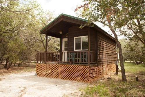 Photo of Medina Lake Camping Resort Studio Cabin 1