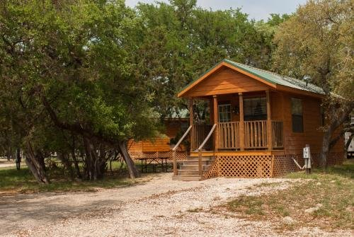 Photo of Medina Lake Camping Resort Cabin 3
