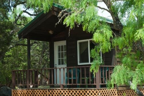 Photo of Medina Lake Camping Resort Cabin 7