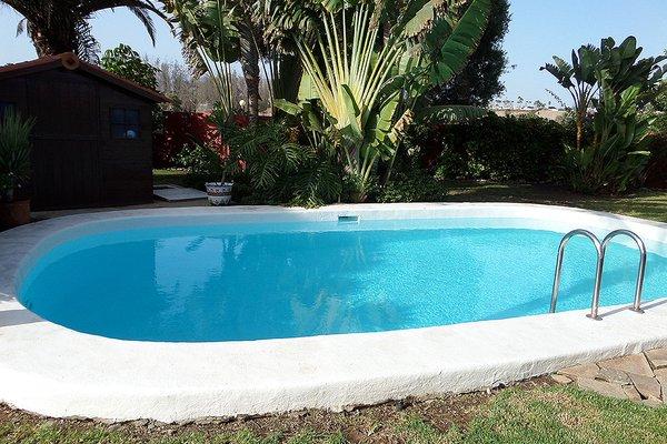 Villa Tropical Garden Maspalomas - фото 50