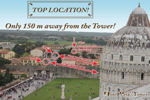 Hotel Pisa Tower - фото 21