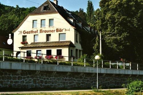 Гостиница «GASTHOF BRAUNER BAR», Greifenstein
