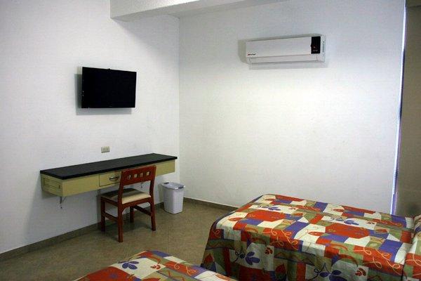 Гостиница «del Valle», Кульякан