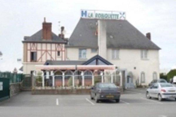 Гостиница «La Robiquette», Сен-Грегуар