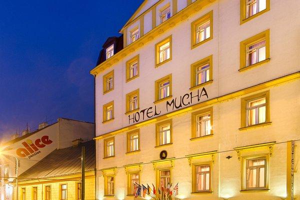 Отель Mucha - фото 22