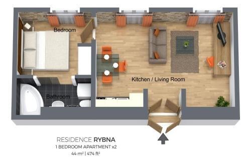 Residence Rybna - фото 17