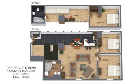 Residence Rybna - фото 19