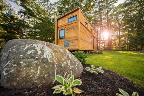 Photo of Tuxbury Pond Camping Resort Tiny House Emerson