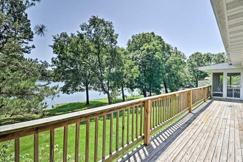 Photo of Lake House with Deck on Crown Lake near Ozark Forest!