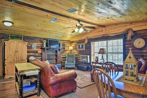 Photo of Murfreesboro Cabin with Fire Pit-by Lake Greeson
