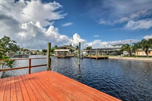 Photo of Canalfront Hudson Home with Private Dock and Yard!