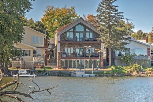 Photo of Waterfront Black Hawk Home Game Room and Boat Dock!