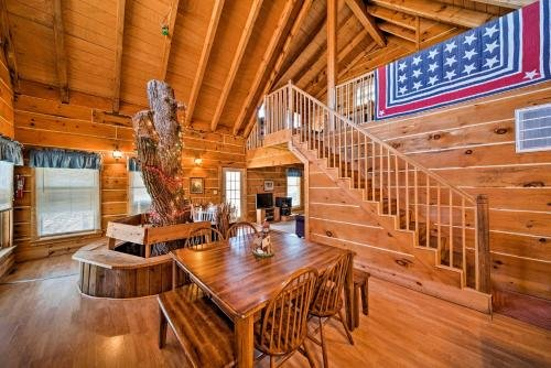 Photo of Secluded Spragueville Cabin by ATV Trails and River!