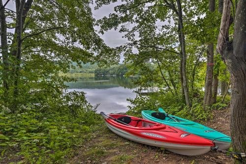 Photo of Rustic Berkshires Cottage at Lake Buel with Kayaks!