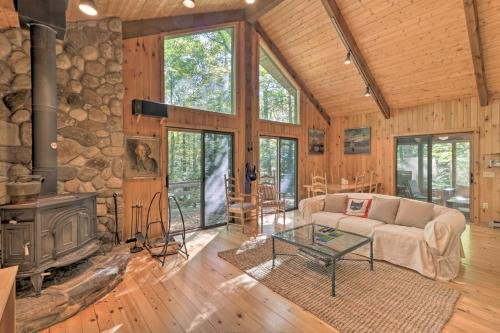 Photo of Cabin with 3 Acres, Tennis and BBall Courts by 4 Ski Mtns