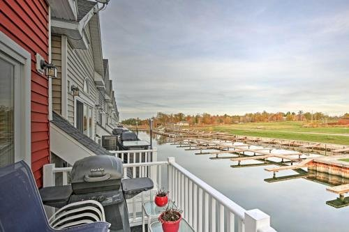 Photo of Townhome with Attached Boathouse on Alexandria Bay!