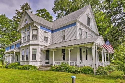 Photo of Large Cooperstown Area Victorian Home with Fire Pit
