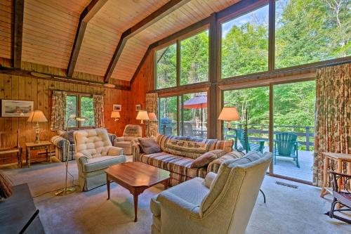 Photo of Thirteenth Lake Chalet with Deck, Walk to Water!