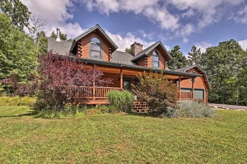 Photo of Stellar Wilmington House on 20 Wooded ADK Acres!