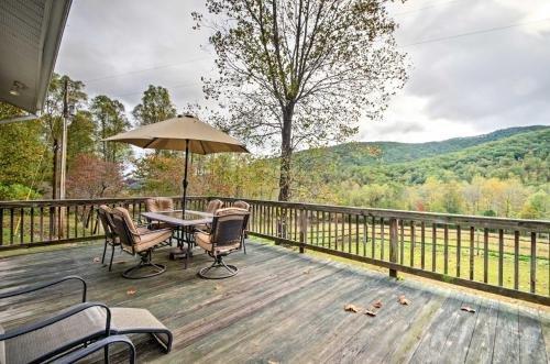 Photo of Splendid Asheville Area Cabin with Mt Pisgah Views!