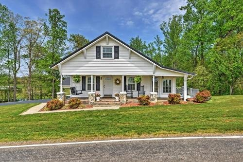 Photo of Dobson Farmhouse with Wraparound Porch and Fire Pit!