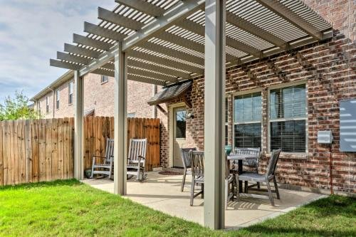 Photo of College Station Townhouse with Patio and Pool Access!