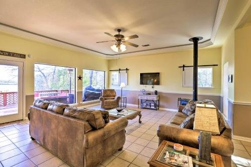 Photo of Waterfront Granbury Home with 3 Decks and Lake Access!