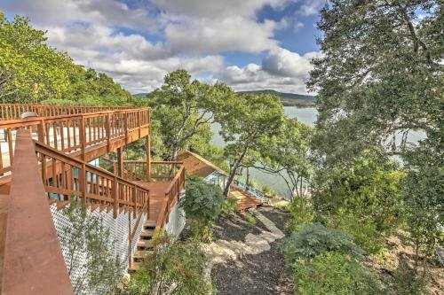 Photo of Waterfront Lakehills Home with Pvt Dock and Lake Views