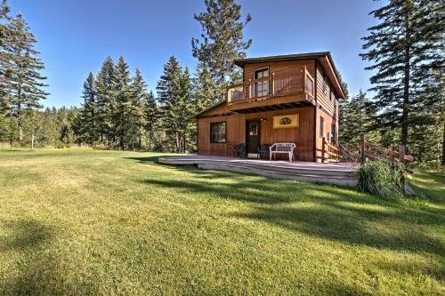Photo of Conconully Cabin on 42 Private Acres Near Hiking!