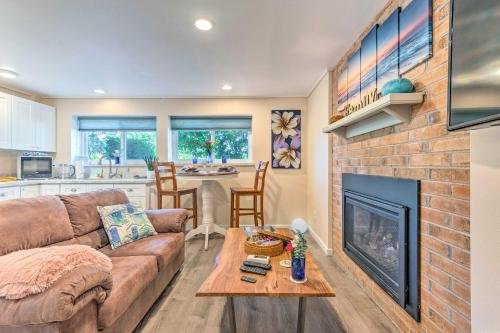 Photo of Seattle Area Studio with Fireplace-2 Mi to State Park