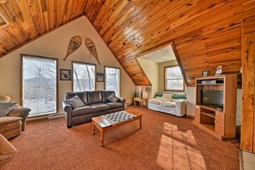 Photo of Ski-In and Ski-Out Ghent Cabin with Mountain Views!