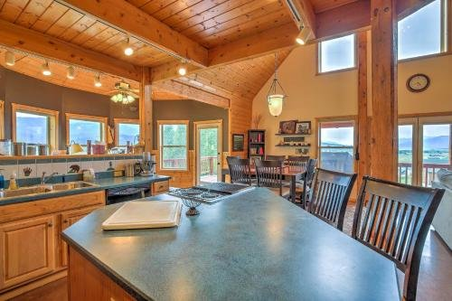 Photo of Luxe Alpine Cabin with Wraparound Deck and Mtn Views!