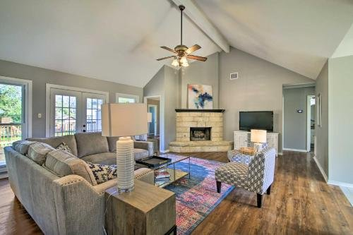 Photo of Renovated Home Nestled on Cibolo Creek with Fire Pit