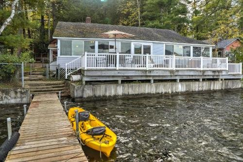 Photo of Renovated Lakefront House with Dock Pets Welcome!