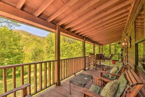 Photo of Enchanting Cabin with Mtn Views and Creekside Trail!