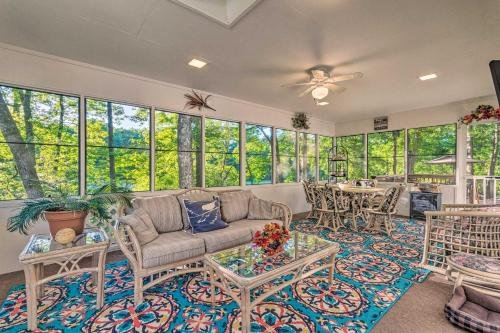 Photo of The Crystal House with Sunroom and Golf Green Views!