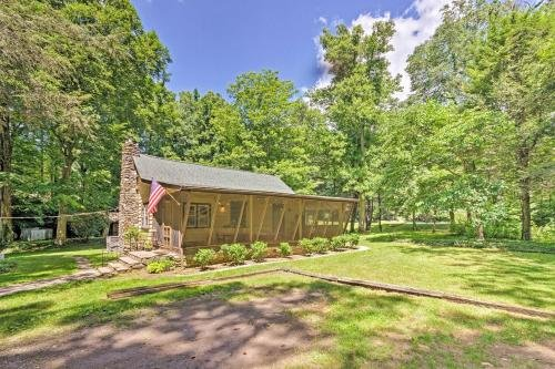 Photo of Cozy 2-Acre Historic Black Mountain Cabin with View!