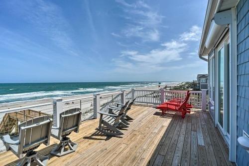 Photo of Beachfront Oasis 2 Huge Decks, BBQ and Views!