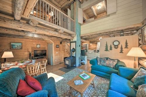 Photo of Private Moyie Riverfront Cabin Pets Welcome!