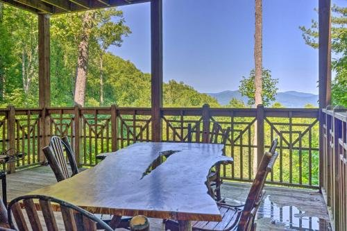 Photo of Burnsville Mountain Condo with Private Deck and Views!