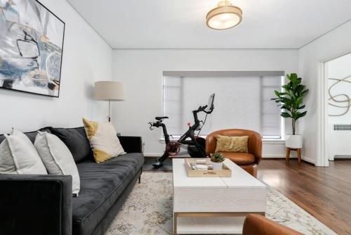 Photo of Luxury Contemporary Apartment With Peloton Bike