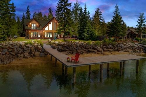 Photo of Antler Cove Log Home