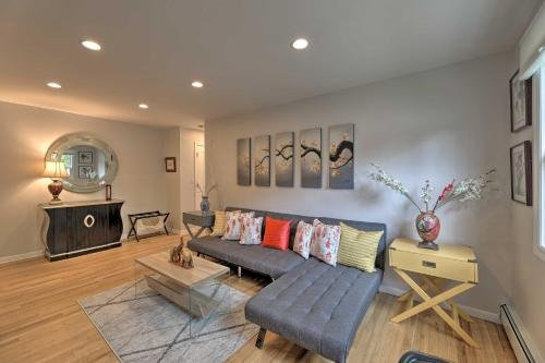Photo of Bright and Airy Apartment with Balcony about 20 Mi to NYC!