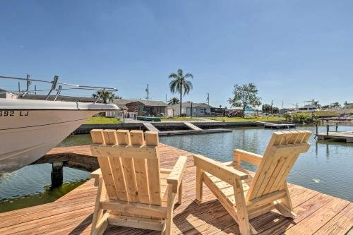 Photo of Clean and Spacious Canalfront Home with 4 Kayaks - 1 Mi to Beach!