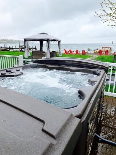 Photo of Break Away Hot tub theater game room
