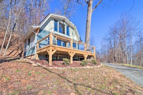 Photo of Romantic Canton Retreat with Deck and Mtn Views!