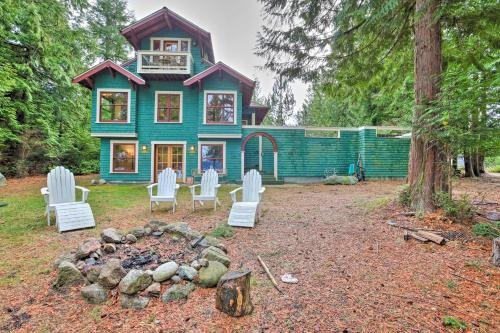 Photo of Lopez Island Hideaway with Coastal Views and Deck