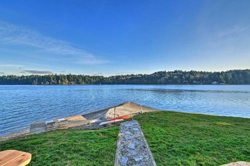 Photo of Waterfront Olympia Home with Private Beach and Kayaks!
