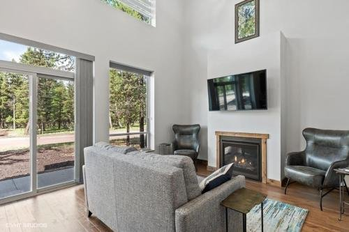 Photo of A newly built Mountain Modern designed home in the Seeley-Swan Valley of western Montana
