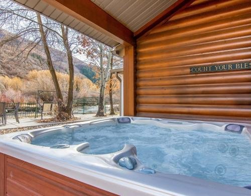 Photo of Provo Riverside Cabin #2 - Provo Canyon - Private Hot Tub - Rent all 3 Cabins